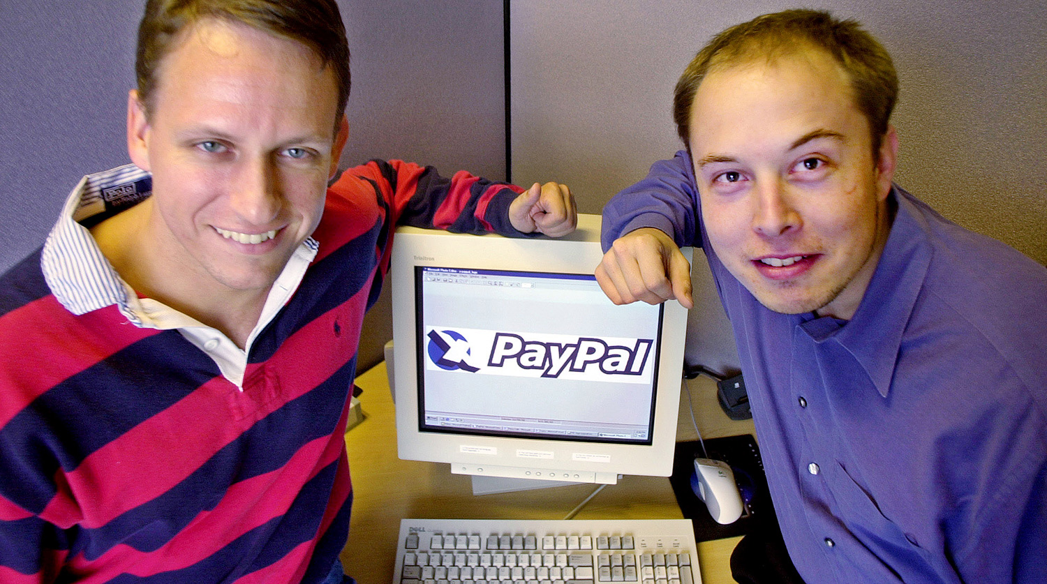 Elon Musk created PayPal