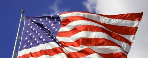 The history of the US flag