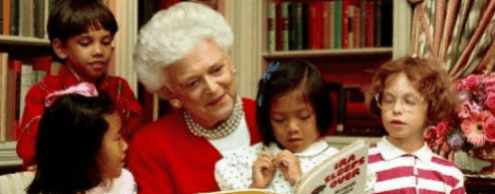 Barbara Bush: wife and mother of the US president