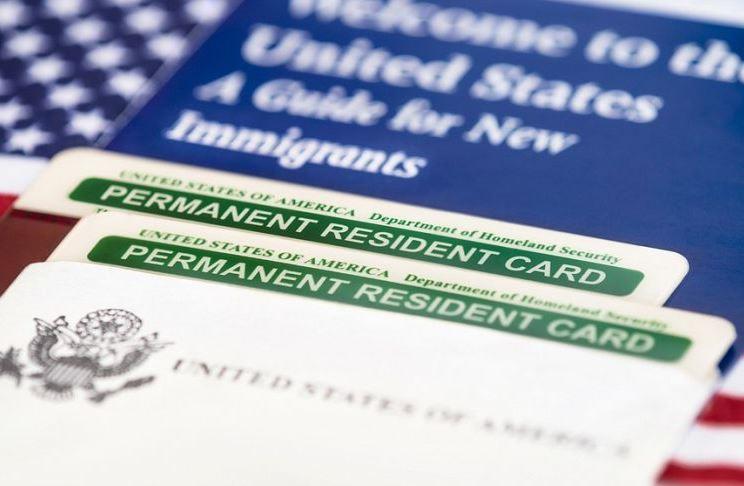 Форма заявления I-90 на замену Green Card