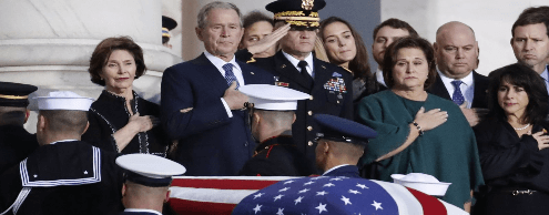 Джордж Буш-старший: 1924-2018