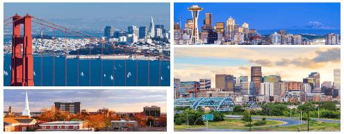 Лучшие города США, где жить хорошо