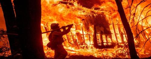 Пожар в Калифорнии: станет ли дождь спасением?