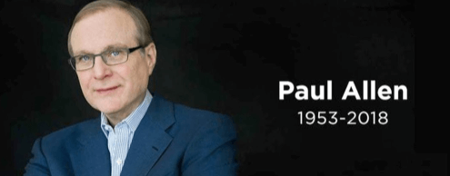Microsoft co-founder Paul Allen passed away