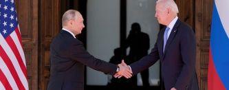 Первая встреча Байдена и Путина
