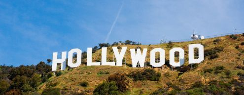 Hollywood is a symbol of the US cinema industry