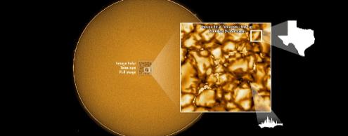 Новые фото поверхности Солнца