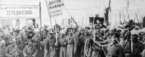 Как отметили 100 лет Октябрьской революции в США