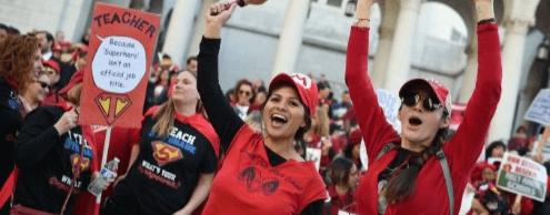 Вторую неделю продолжается забастовка учителей в Лос-Анджелесе